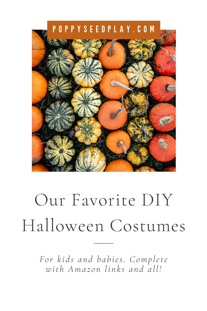 DIY Halloween Costumes for Babies & Kids