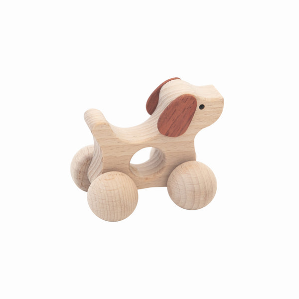 Wooden Dog Toy