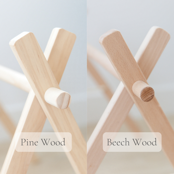 Wooden Baby Gym + White & Wood Toys