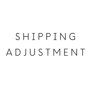 Shipping Adjustment