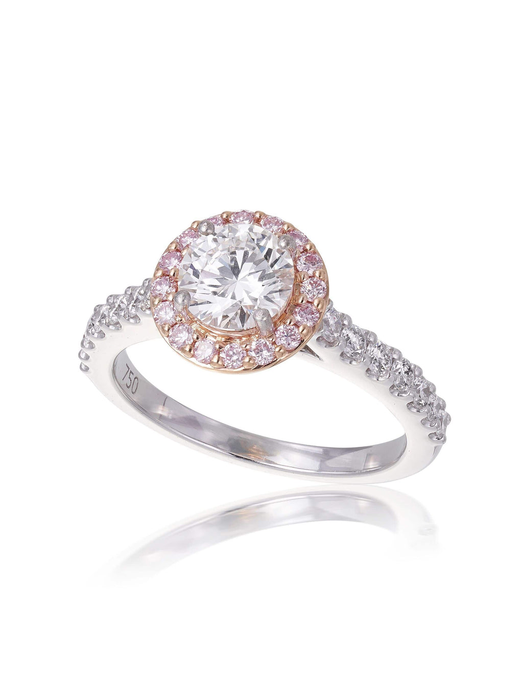 Royal Round Brilliant Cut Diamond Engagement Ring
