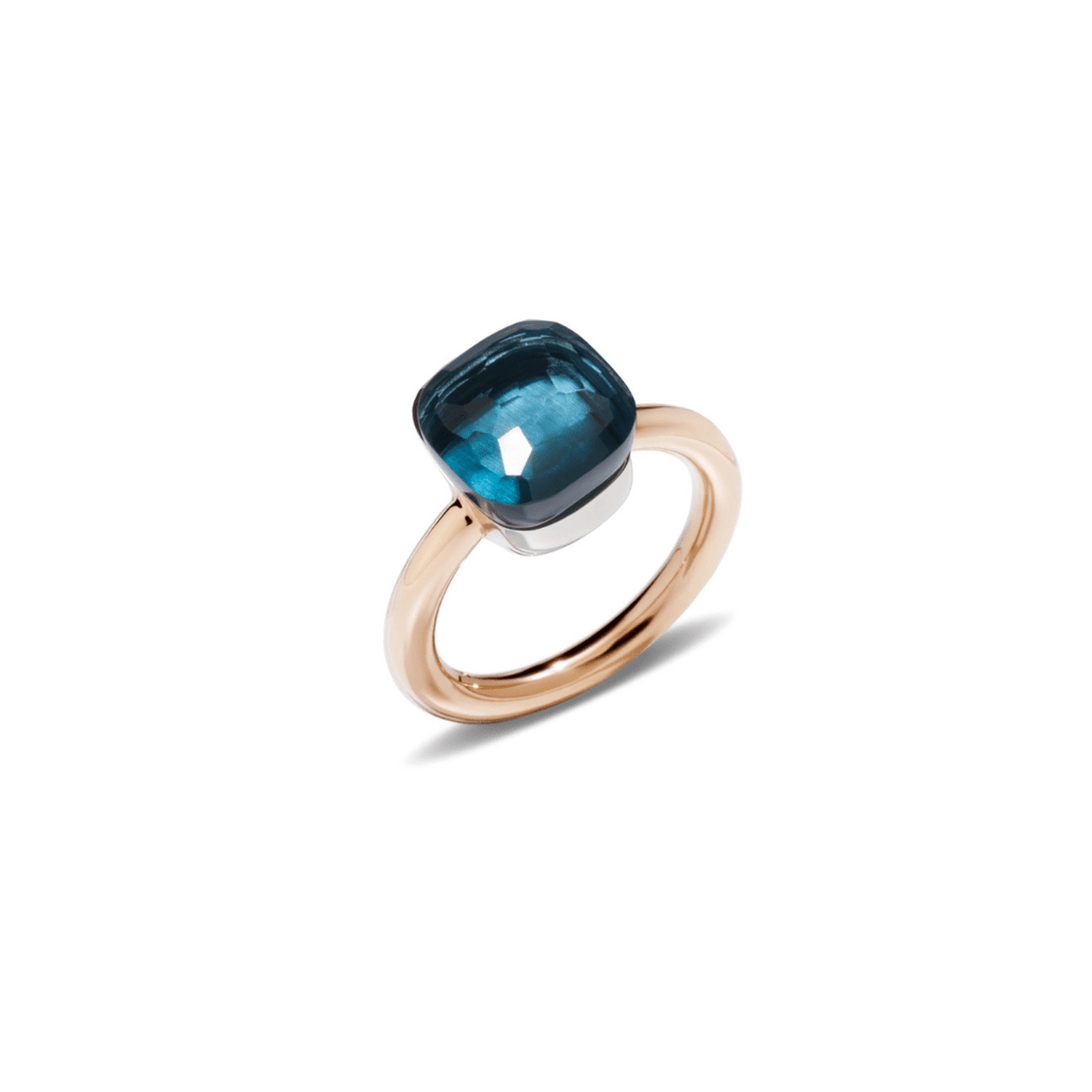 Nudo London Blue Topaz Classic Ring