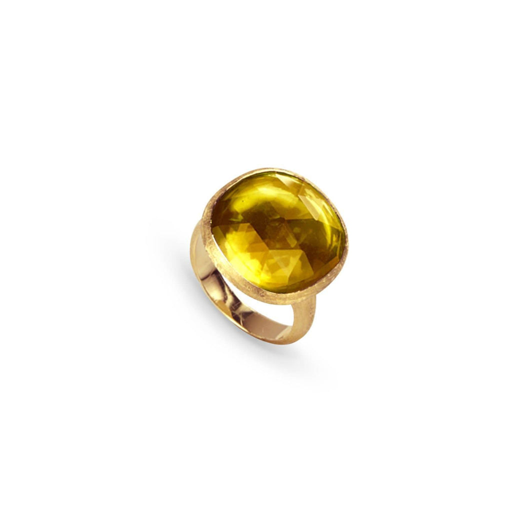 Jaipur Citrine Ring