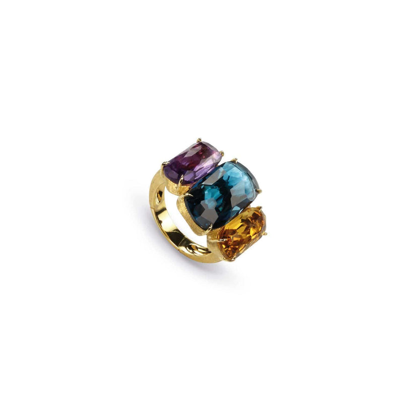 Murano Mixed Gemstone Ring