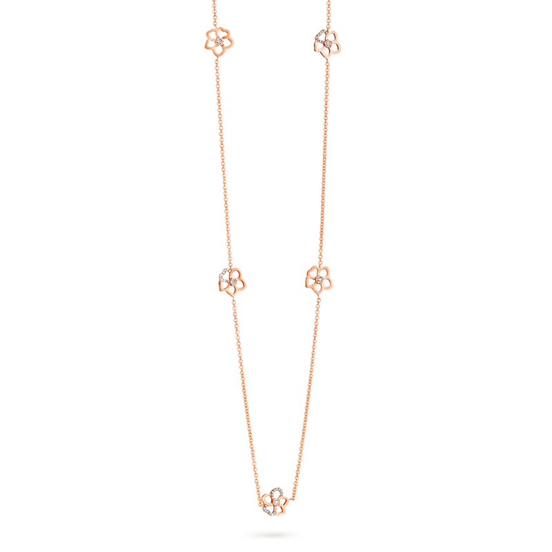 Monoi Long Flower Necklet