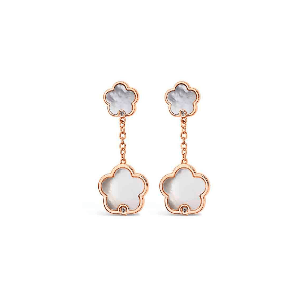 Magritte Mother of Pearl Drop Earrings