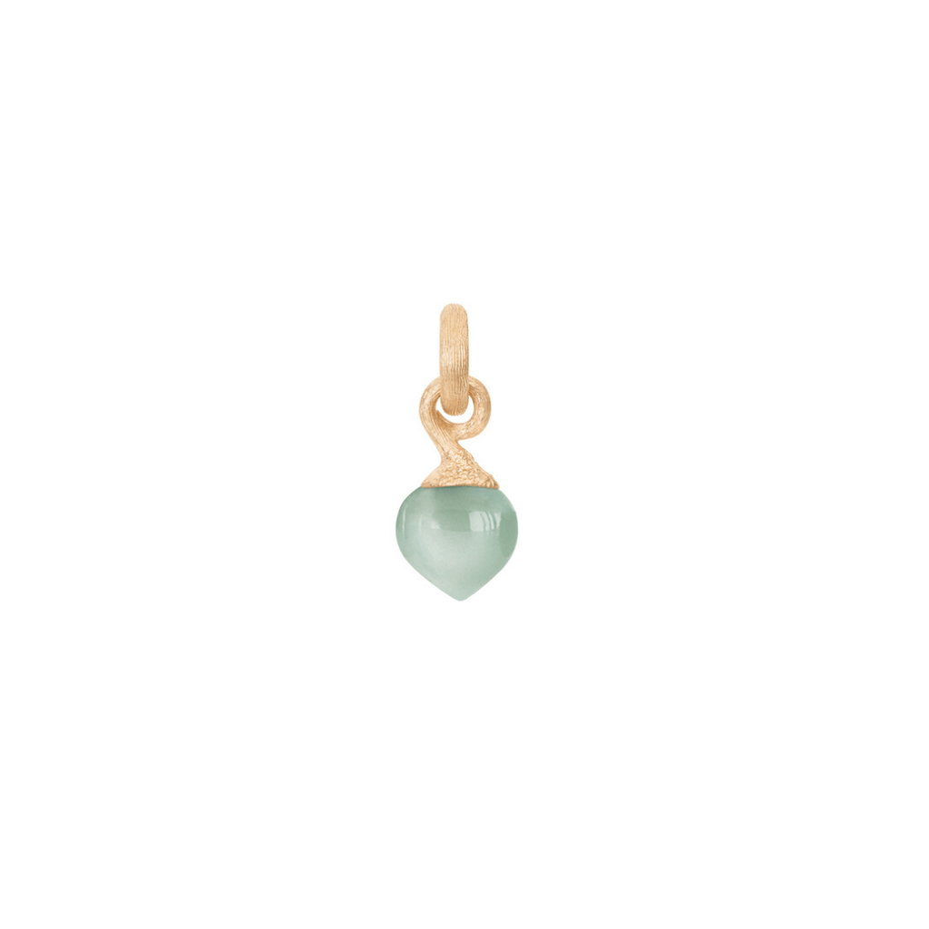 Sweet Drops Small Aquamarine Charm