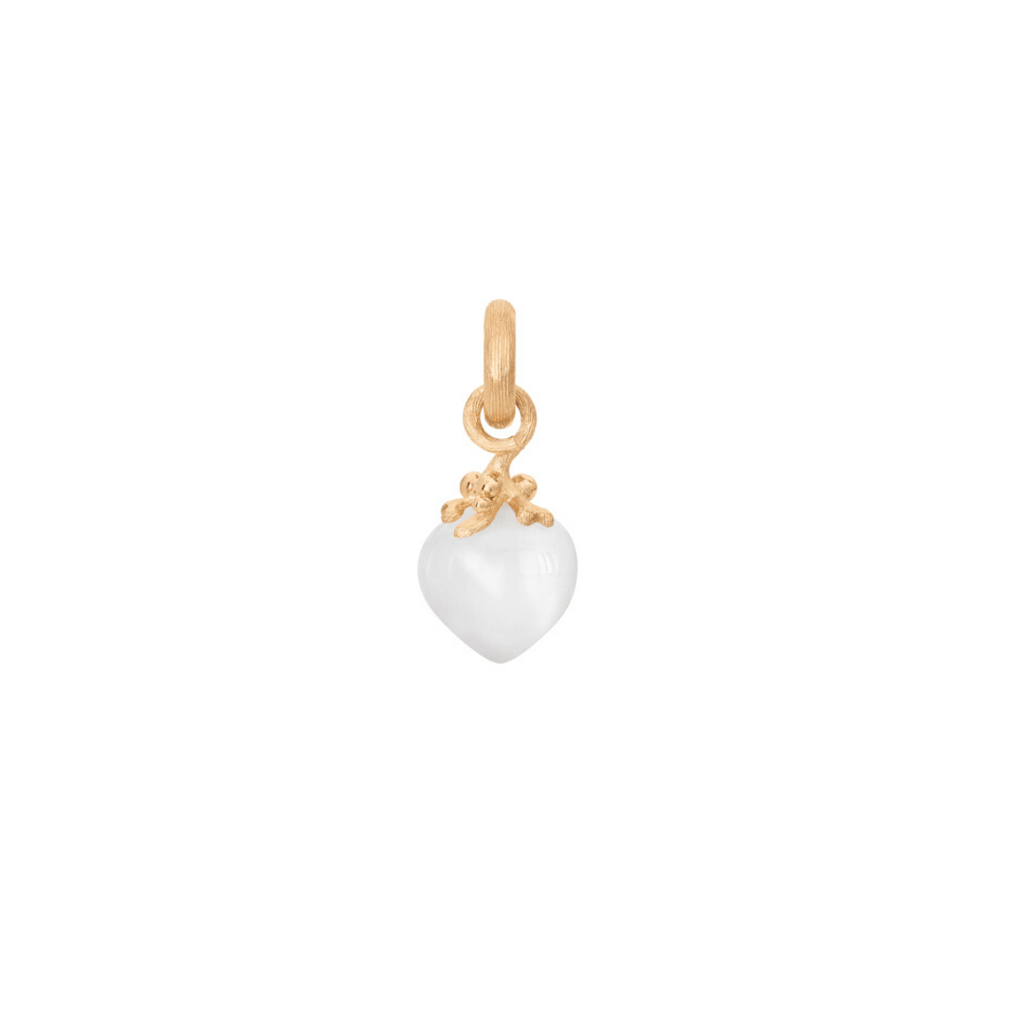 Sweet Drops White Moonstone Charm