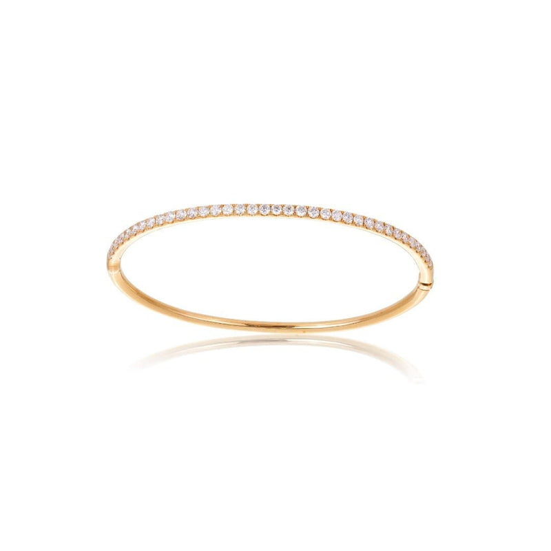 Diamond Hinged Line Bracelet