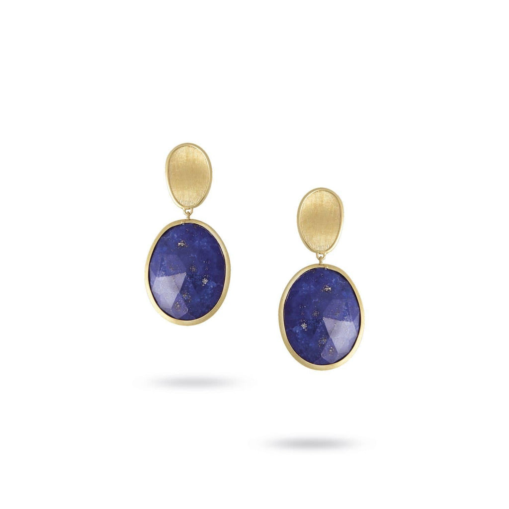 Lunaria Lapis Lazuli Earrings