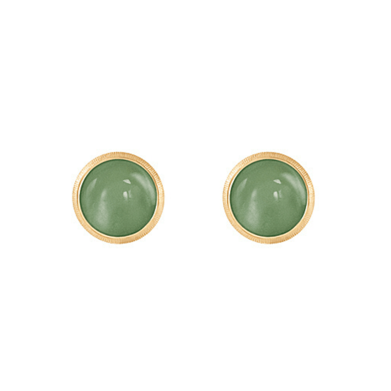 Lotus Serpentine Stud Earrings
