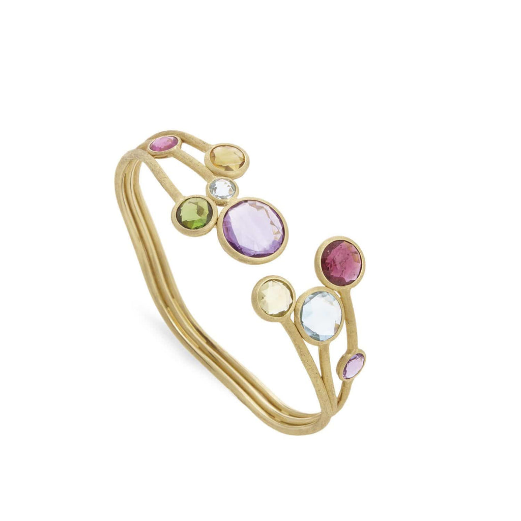 Jaipur Mixed Gemstone Cuff