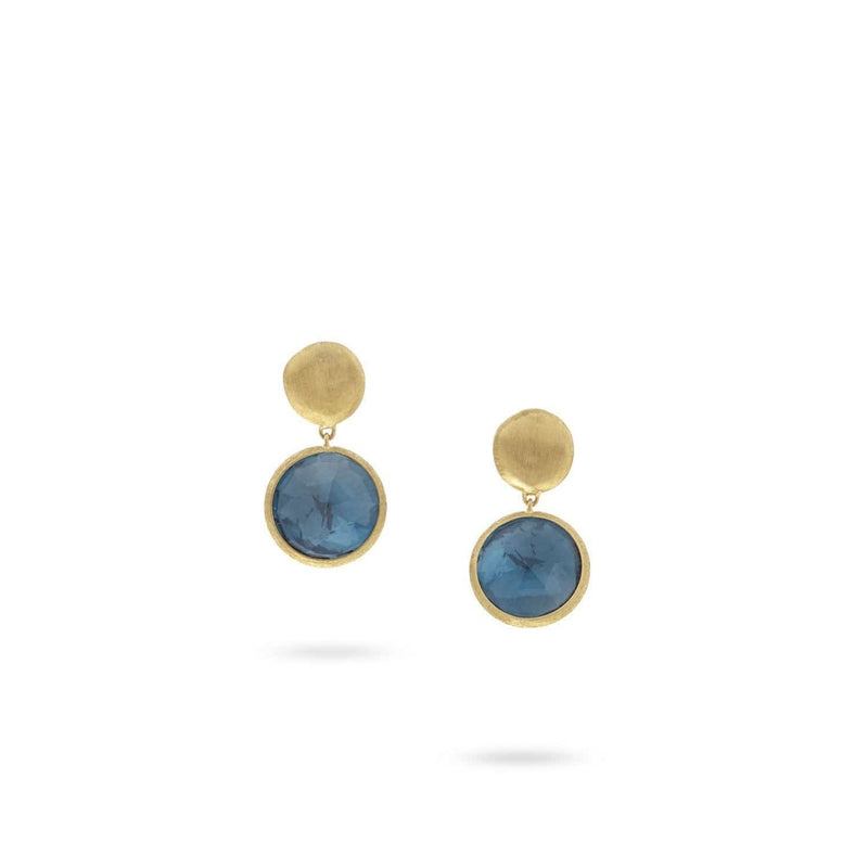 Jaipur London Blue Topaz Earrings
