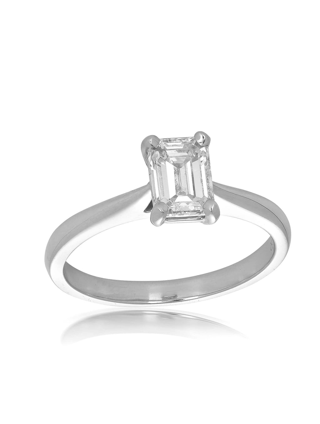 Signature Emerald Cut Diamond Ring