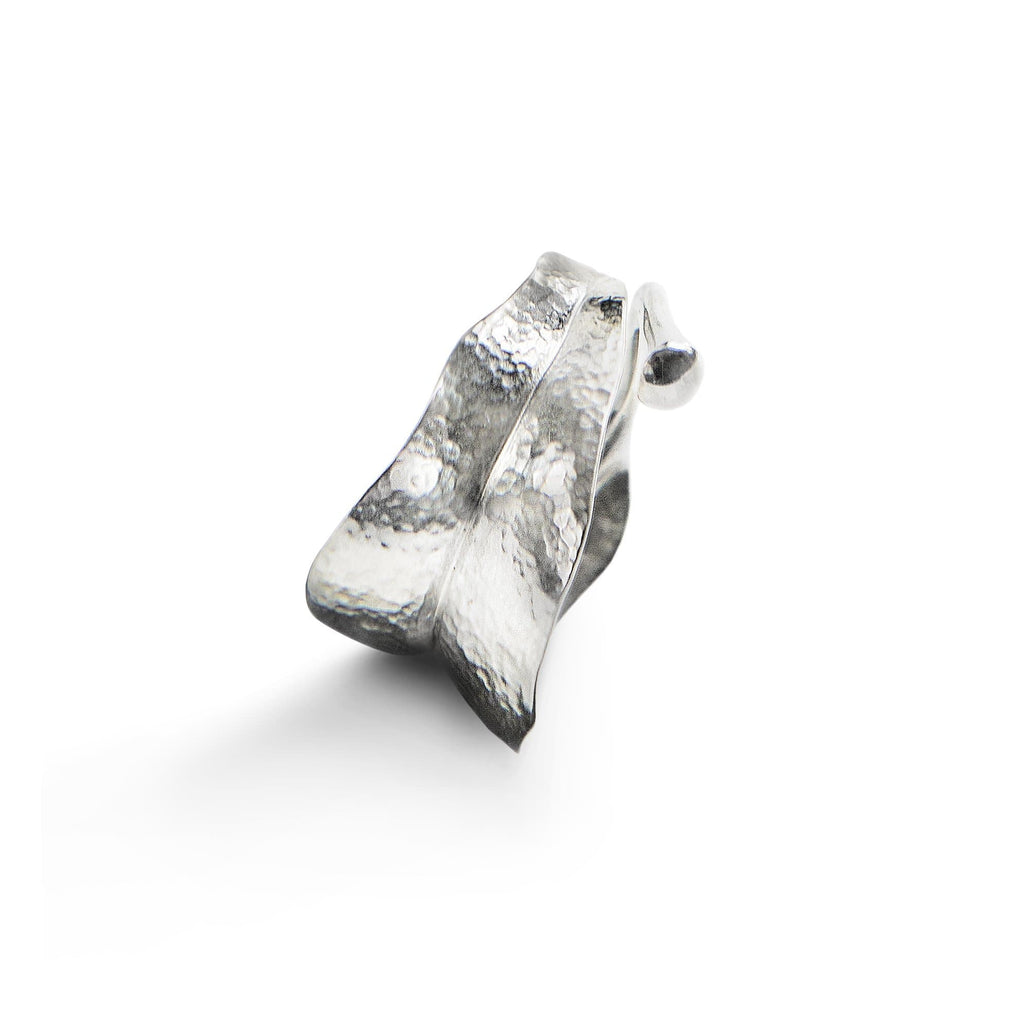 Leaves Medium Sterling Silver Ring