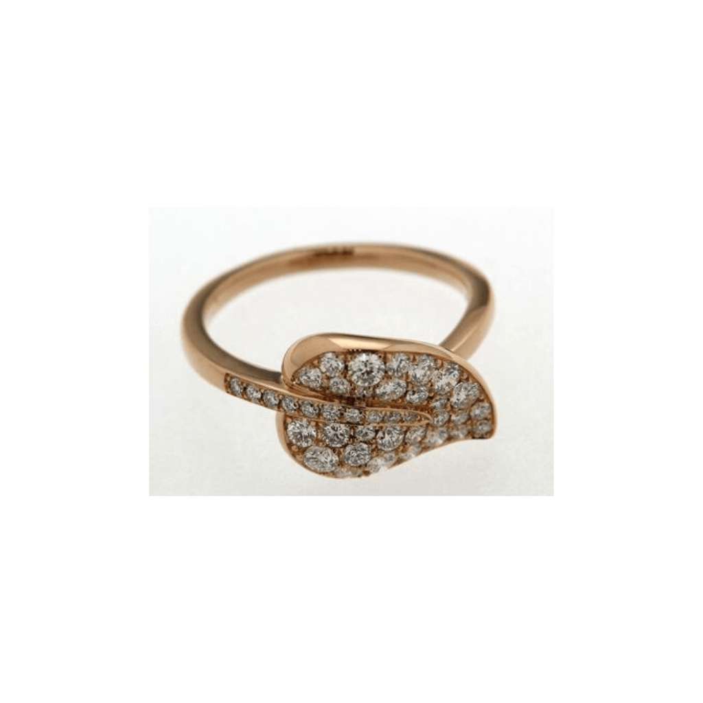 Caesar Diamond Leaf Ring