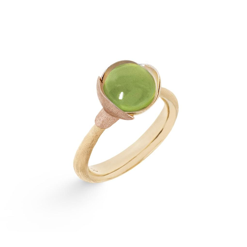 Lotus Peridot Ring - Size 1