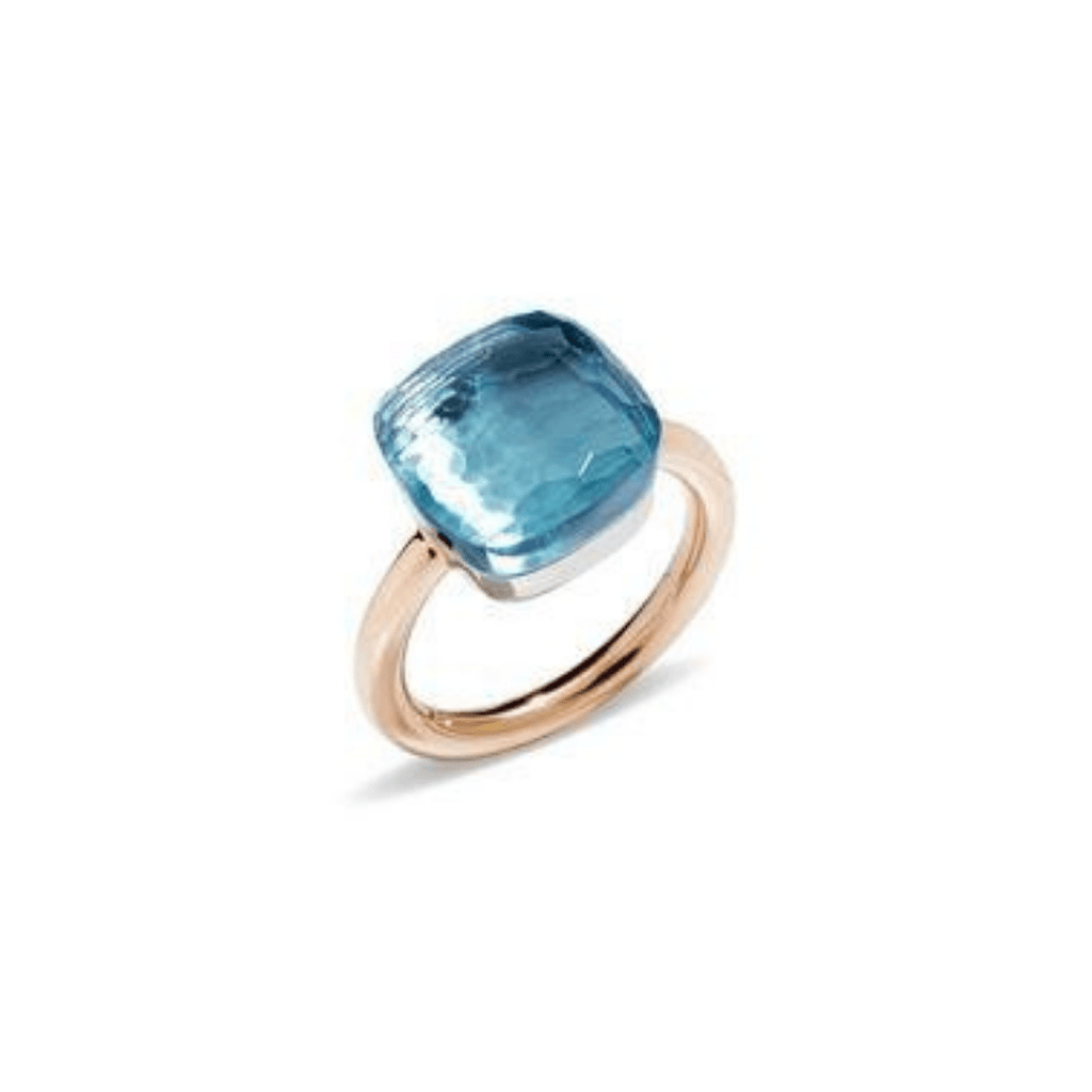 Nudo Sky Blue Topaz Ring