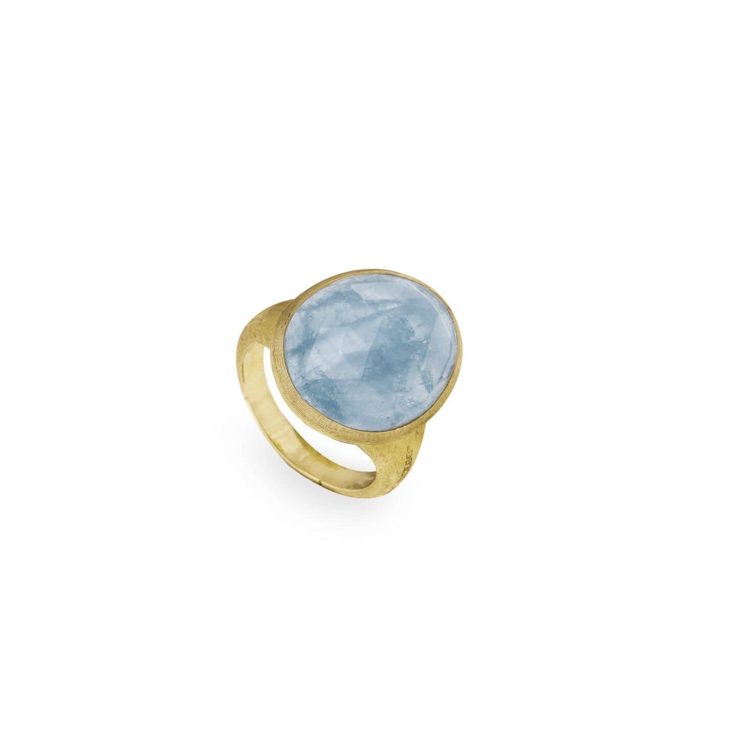 Lunaria Aquamarine Ring