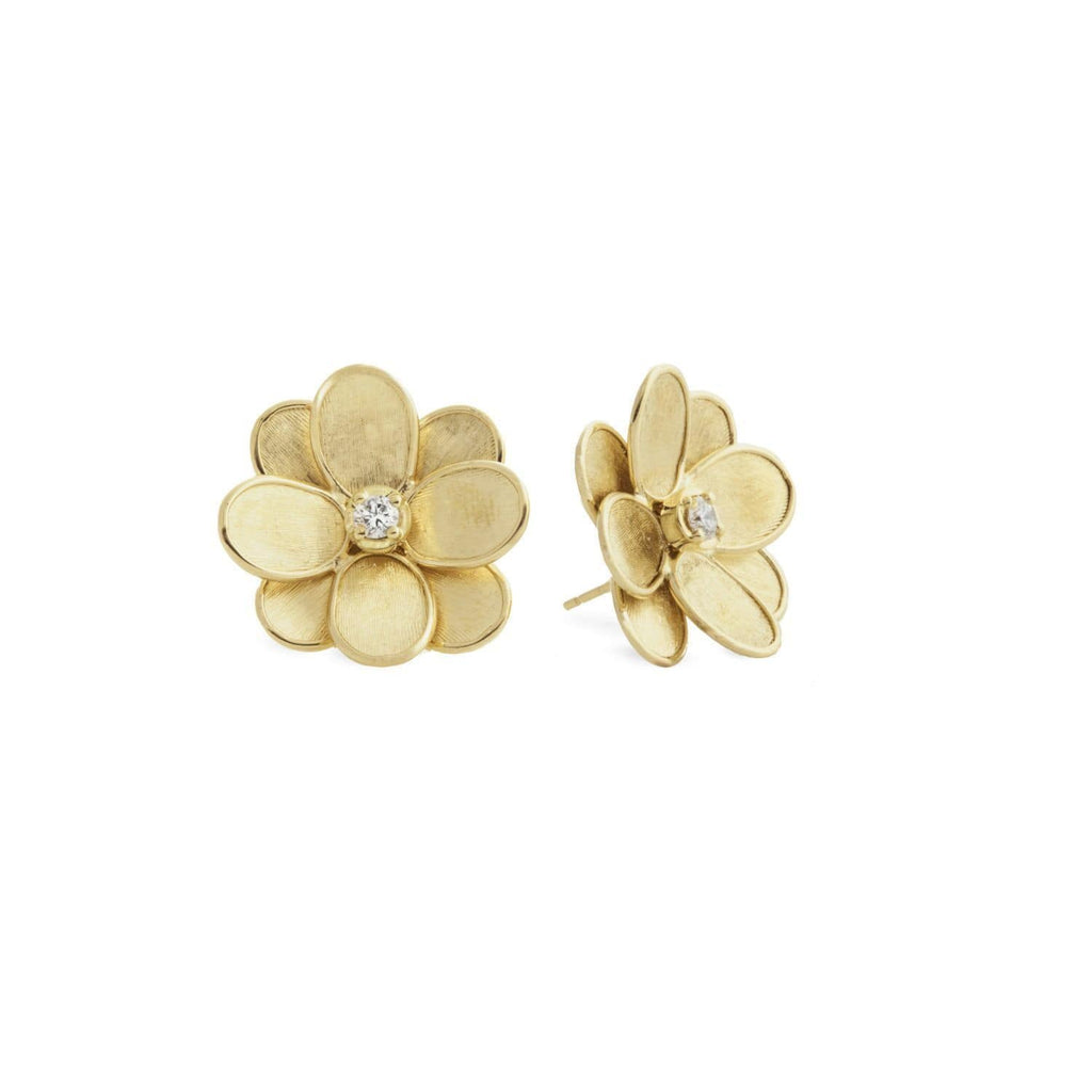 Lunaria Petali Flower Stud Earrings