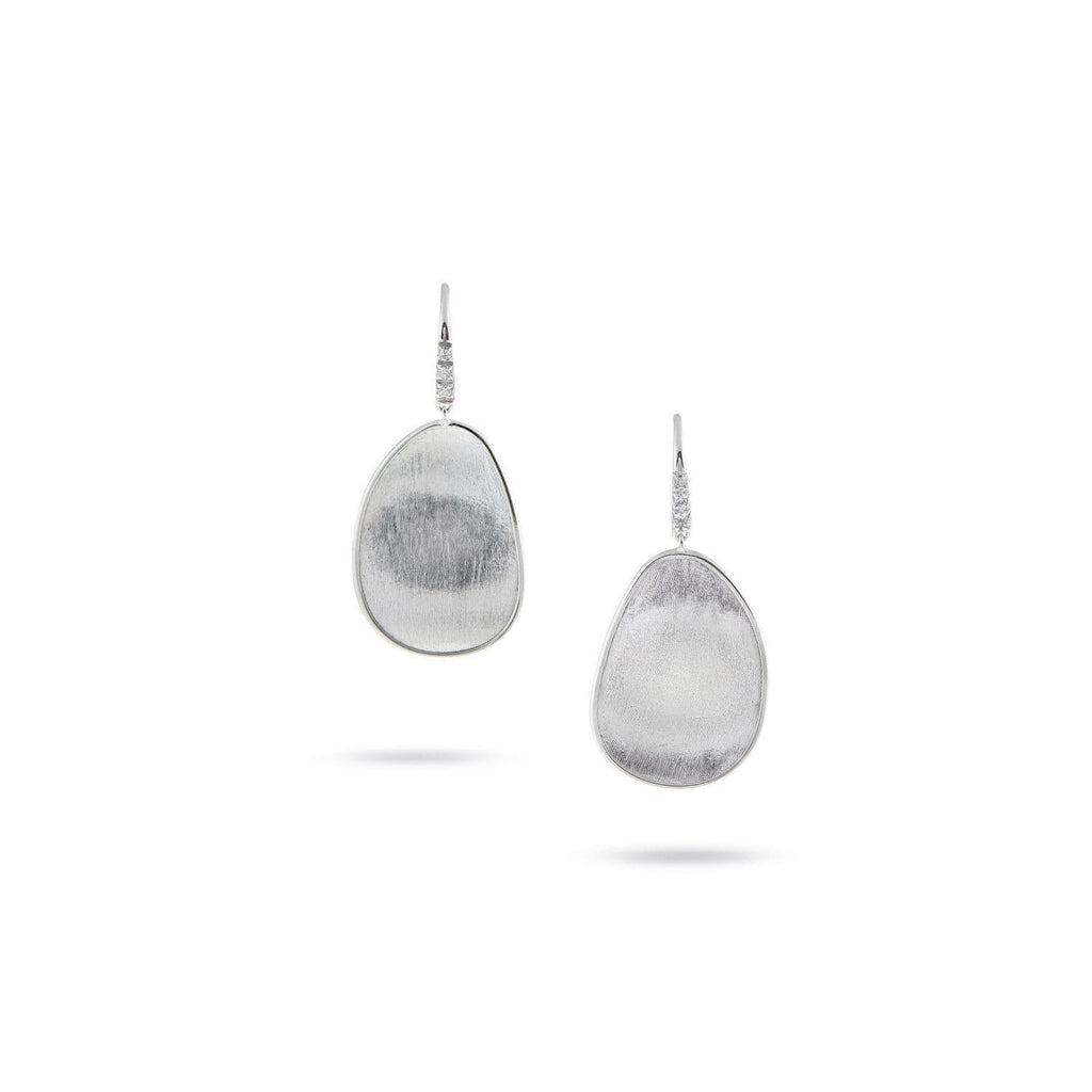 Lunaria Diamond Drop Earrings.