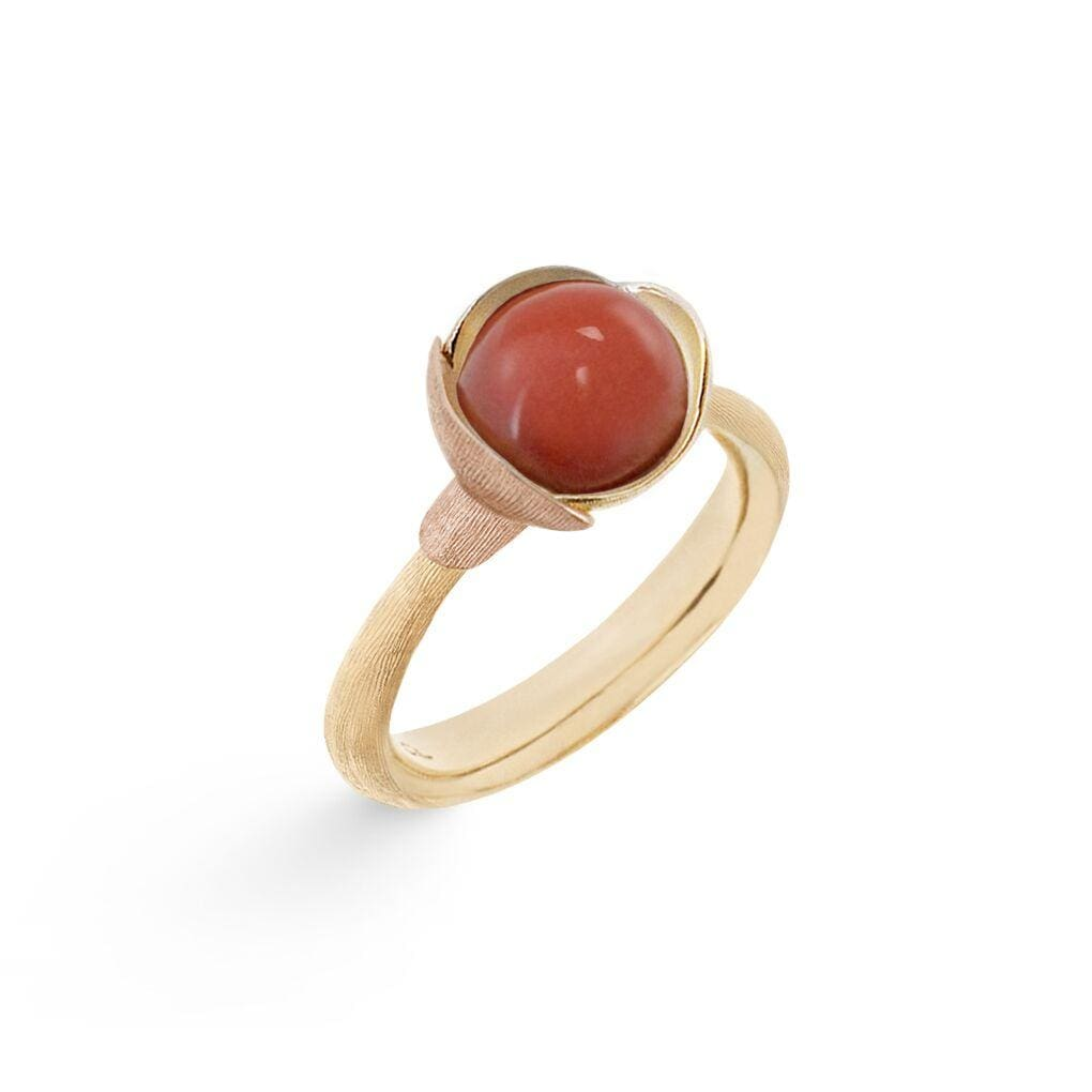 Lotus Coral Ring - Size 1