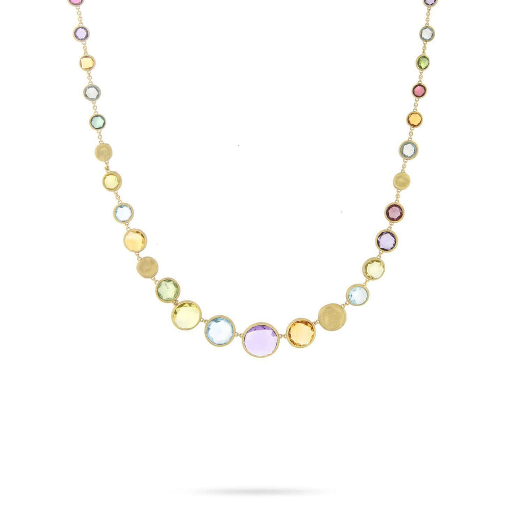 Jaipur Mixed Gemstone Necklet