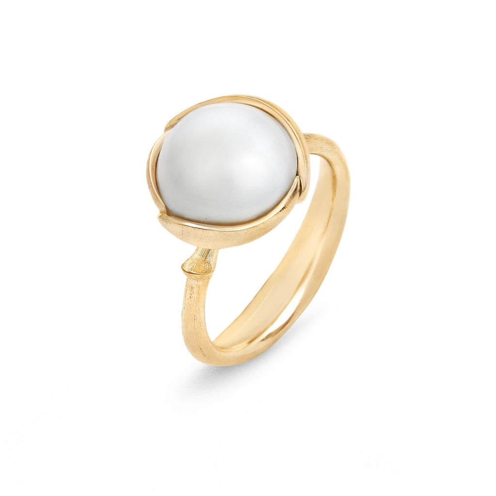 Lotus South Sea Pearl Ring - Small