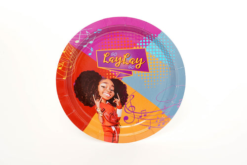 PARTY DINNER PLATES - Go Lay Lay Go