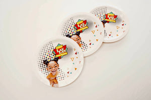 PARTY DINNER PLATES - Show Stopper