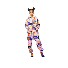 Load image into Gallery viewer, Plush Fleece Onesie Pajama with Hood & Pockets (TODDLER) - GO LAY LAY GO