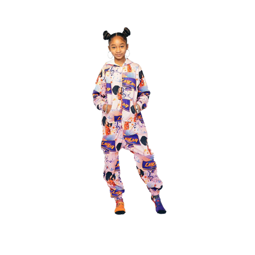 Plush Fleece Onesie Pajama with Hood & Pockets (TODDLER) - GO LAY LAY GO