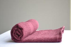 Burgundy Bleach Proof Salon Towels 16x27""