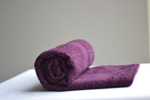 Eggplant Bleach Proof Salon Towels 16x27""