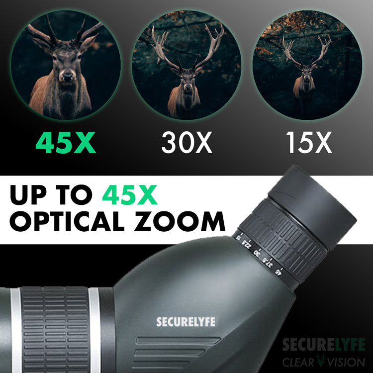 Secure Lyfe Clear Vision Spotting Scope