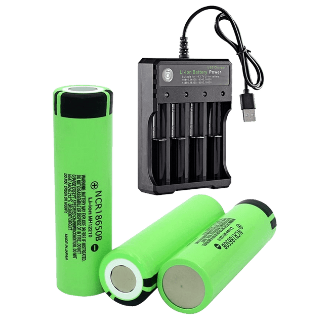 Battery (3 Pack)+ Charger