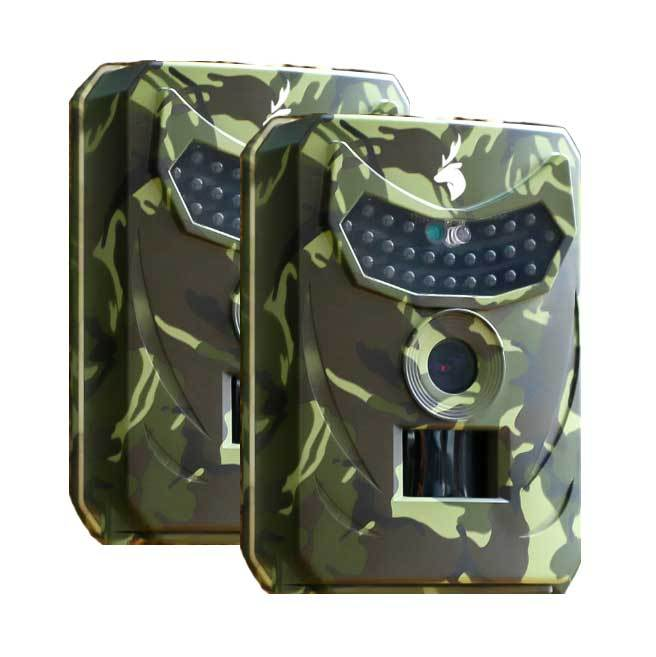 Clear Vision™ Cam - Wildlife Trail Camera (Camo: 2-Pack)