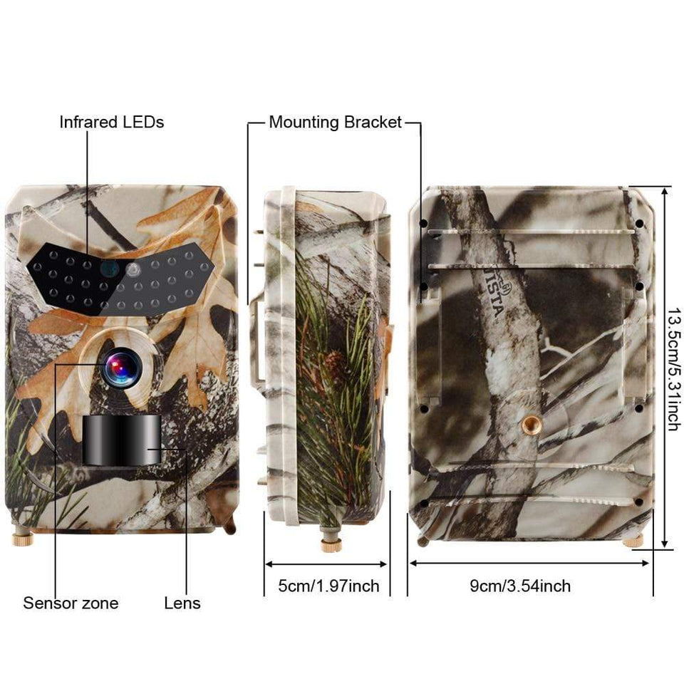 Clear Vision Cam™ - Wildlife Trail Camera
