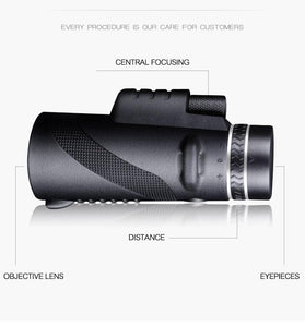 Clear Vision Monocle™ - Professional Mobile Monocle 40x60