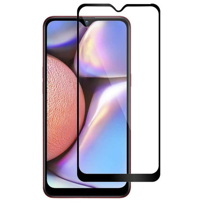 Samsung A10S Full Coverage Tempered Glass Screen Protector