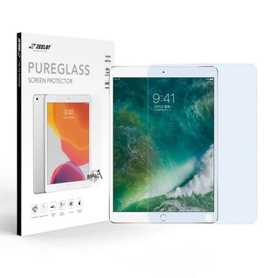 ZEELOT iPad 9.7 / iPad Pro 9.7 (2018/2017/2013) 2.5D PureGlass Anti Blue Ray Tempered Glass Screen Protector