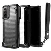 VRS Design Samsung S21+ Plus Crystal Mixx Pro Case