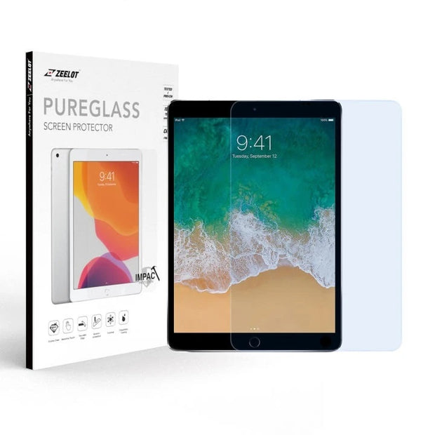 ZEELOT iPad Air 10.5 (2019) / iPad Pro 10.5 (2017) 2.5D PureGlass Anti Blue Ray Tempered Glass Screen Protector