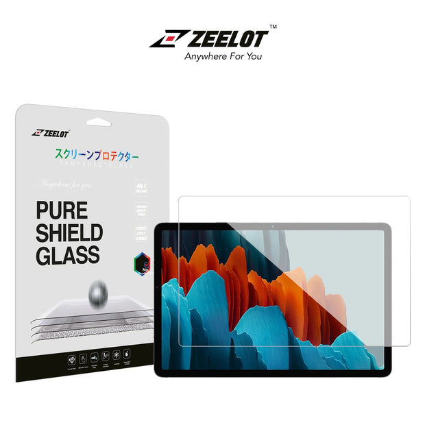 ZEELOT Samsung Tab S7 PureShield Tempered Glass Screen Protector