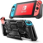 Mumba Nintendo Switch Battle Series Heavy Duty Grip Case with Kickstand