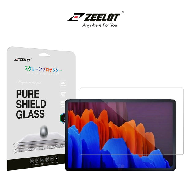 ZEELOT Samsung Tab S7+ Plus PureShield Tempered Glass Screen Protector