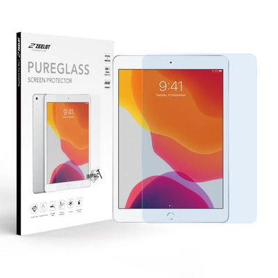 ZEELOT iPad 10.2 (2020 / 2019) 2.5D PureGlass Anti Blue Ray Tempered Glass Screen Protector