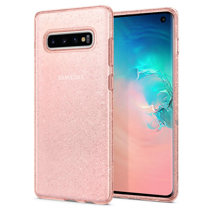 Spigen Samsung S10 Liquid Crystal Glitter Case - Mobile.Solutions