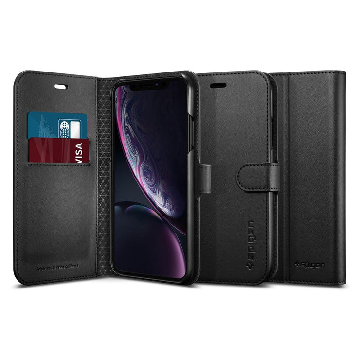 Spigen iPhone XR 6.1 Wallet S Case - Mobile.Solutions