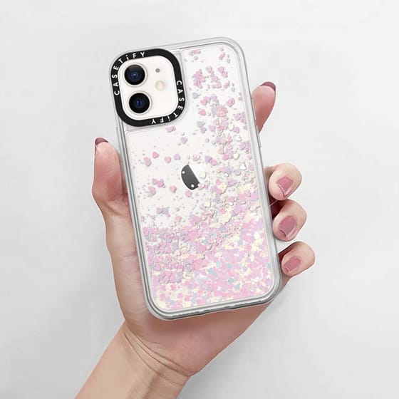 Casetify iPhone 12 Mini 5.4 (2020) Glitter Case
